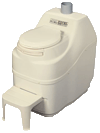 Sun-Mar self contained composting toilet bone excel non electric model